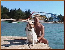 отдых с лабрадором в Хорватии, от Игоря Горина