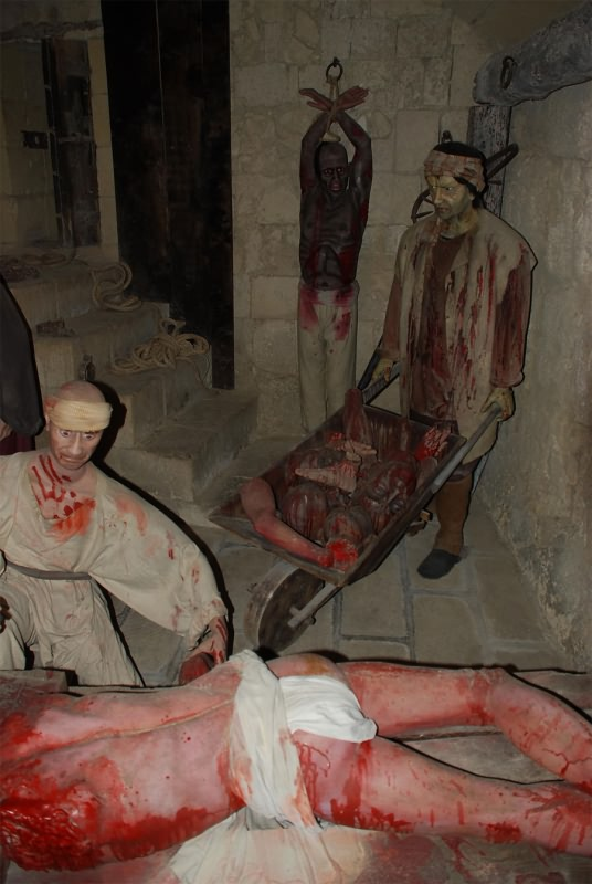 Внутри музея - Музей пыток в