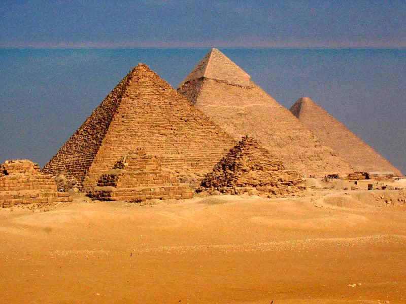 an overview of the architecture of the pyramids of egypt