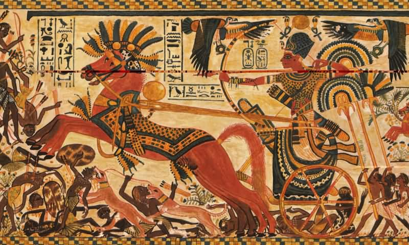 differences between ancient greek art and ancient egyptian art