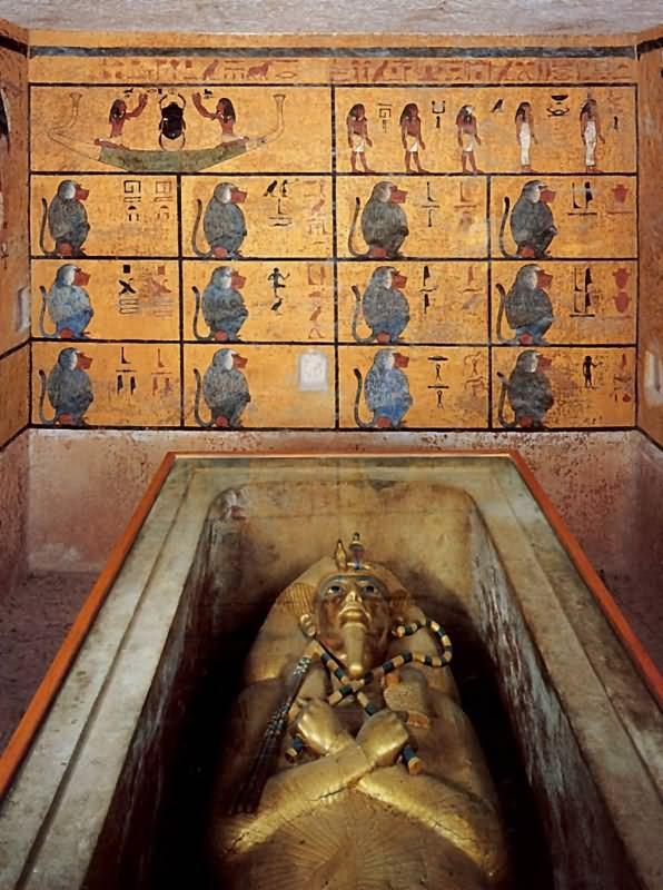 тутанхамон фото открытия гробницы