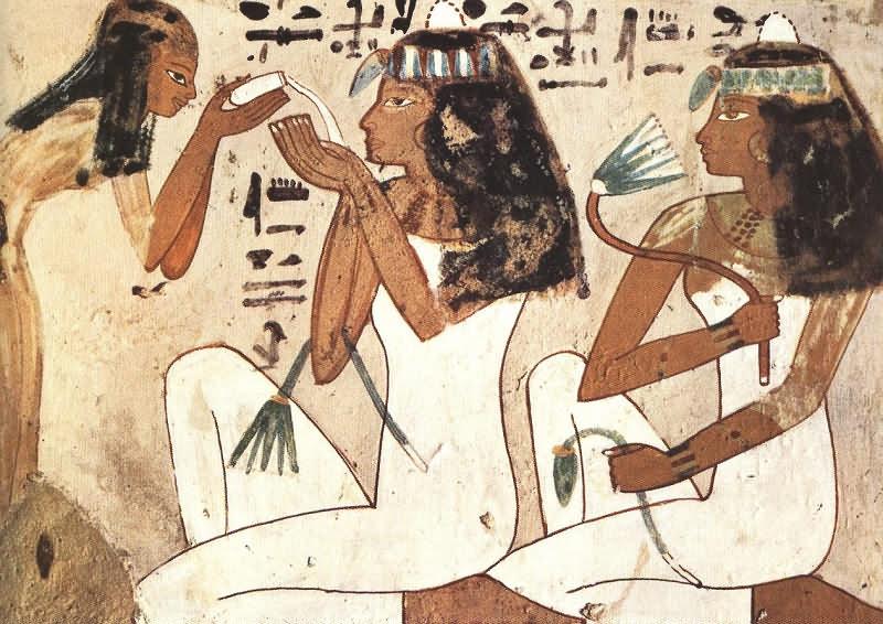 Жизнь в Древнем Египте - Быт египтян (Египет) .