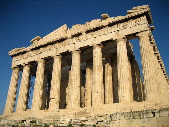 Сообщение архитектурных древнегреческих