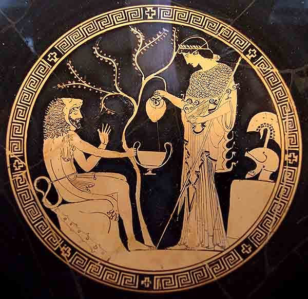 a comparison of heracles and theseus in heracles a play by euripides Heracles does not make an appearance until midway through the play  heracles leaning on theseus as analysis of heracles (hercules furens) by euripides.