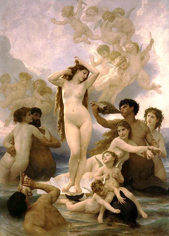 голые богини греции