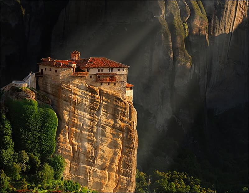 Монастыри метеоры православная