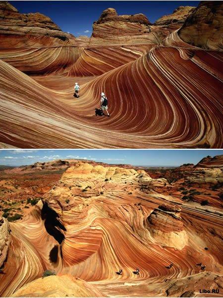 The Wave (США, между Аризоной и Ютой)