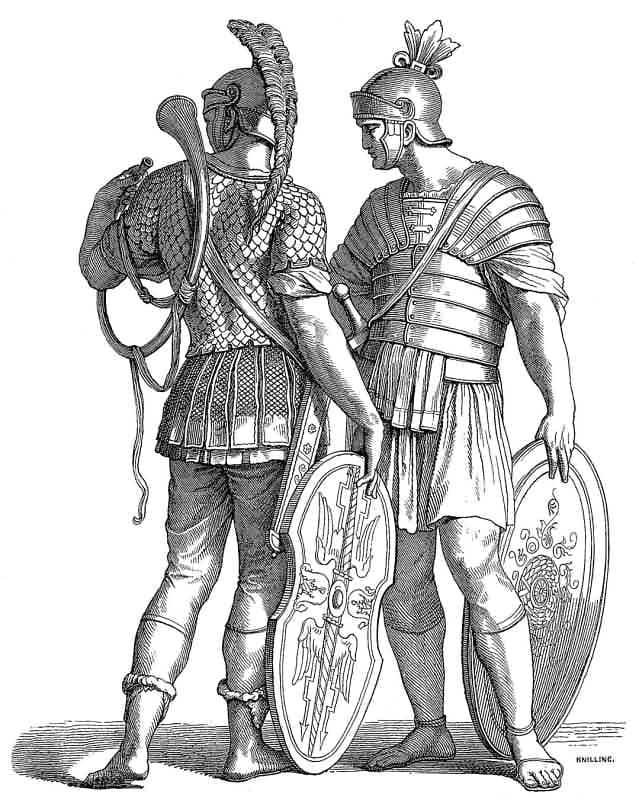История костюма древнего рима