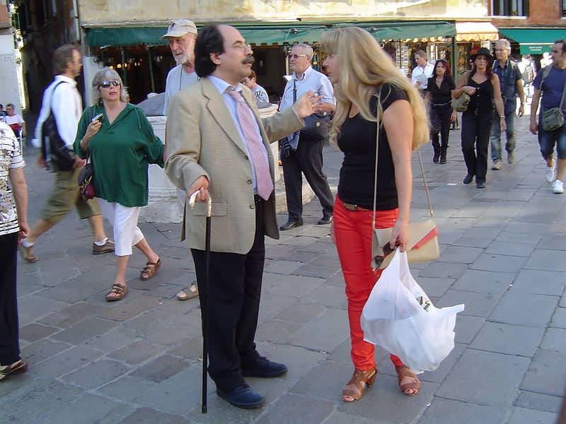 итальянец знакомит с мамой