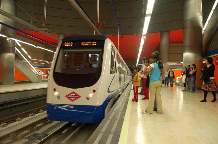 система мадридского метро