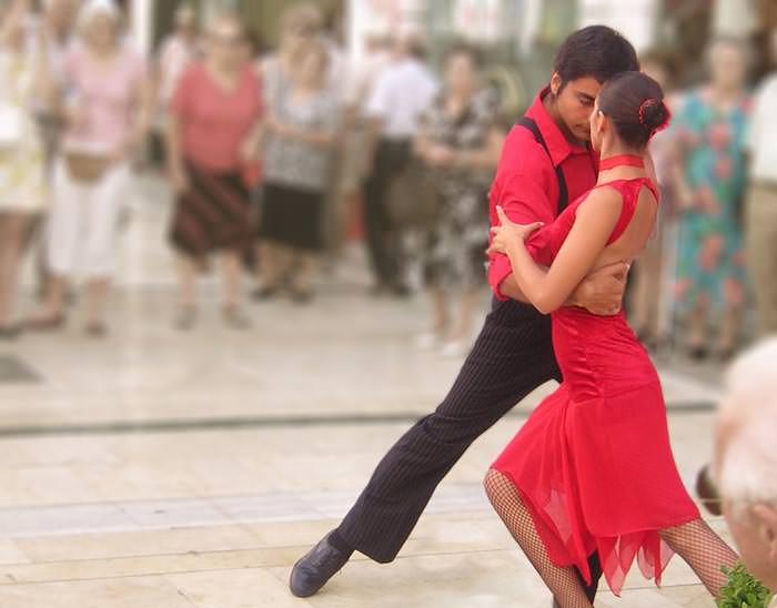 Мастер класс испанского танца