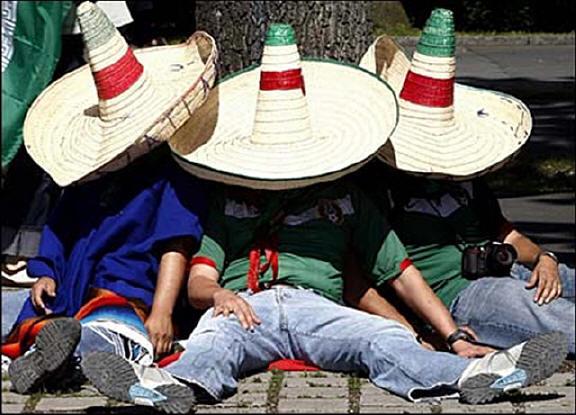 Мексика. Зона аномальный явлений на севере Мексики.